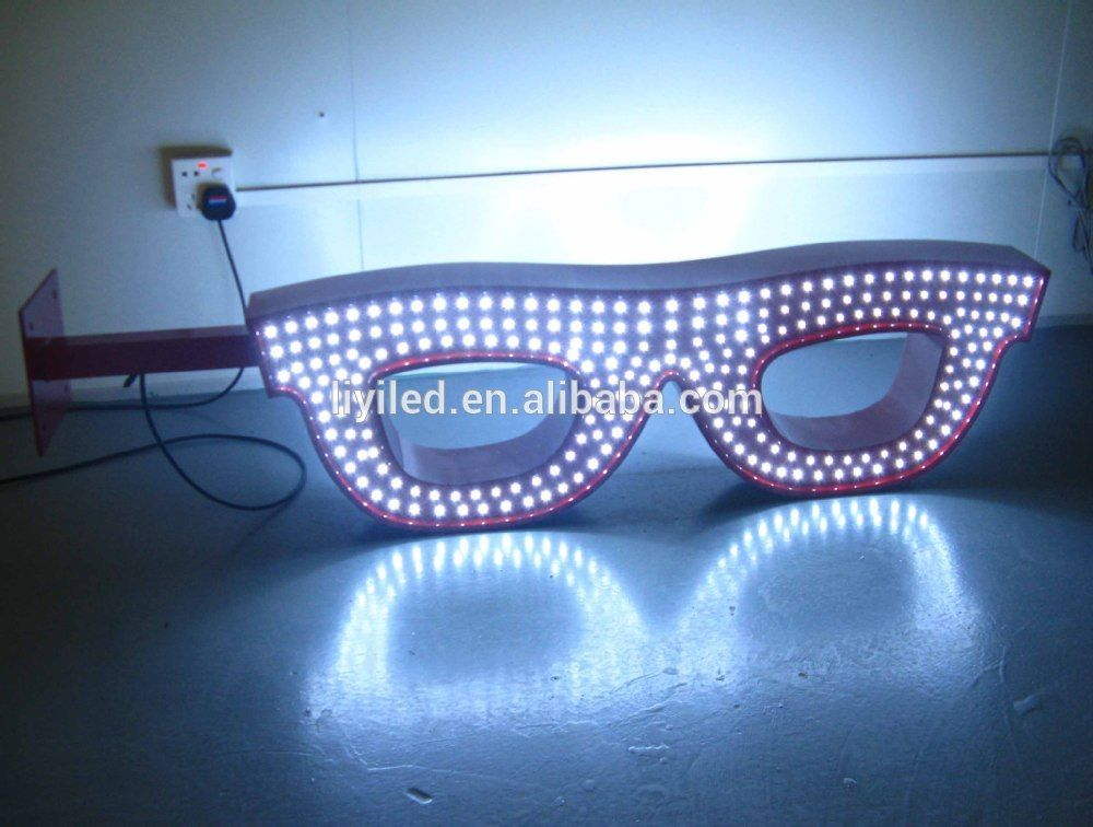 cc7f8c50968 Eye-catching Led Neon Sign Board For Optician