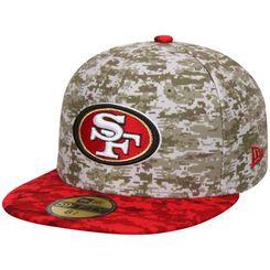 New Era 59Fifty Cap Salute to Service San Francisco 49ers