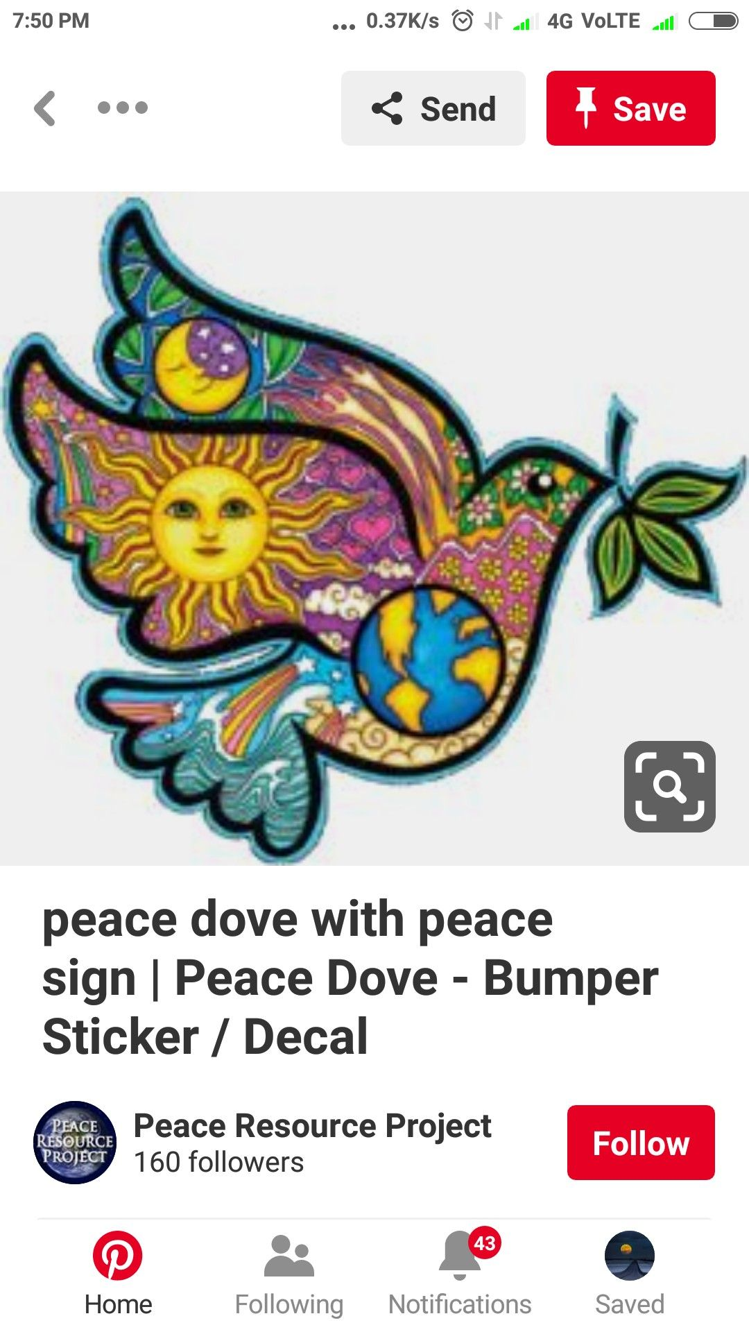 Pin By Riddhi On Peace Poster Peace Poster Peace Dove Bumper Stickers [ 1920 x 1080 Pixel ]