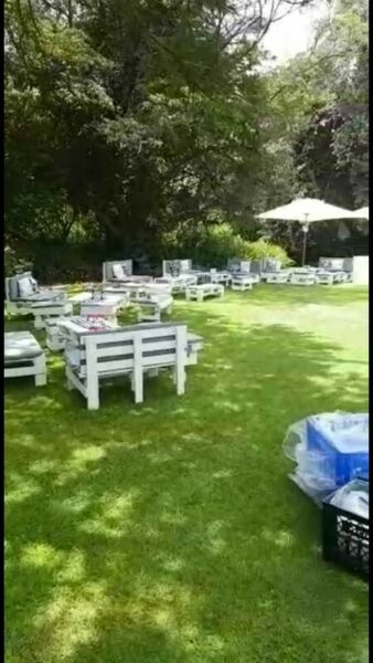 Wooden Pallets For Hire Johannesburg South Gumtree Classifieds South Africa 522753251 Pallet Decor Pallet Furniture Outdoor Unique Event Ideas