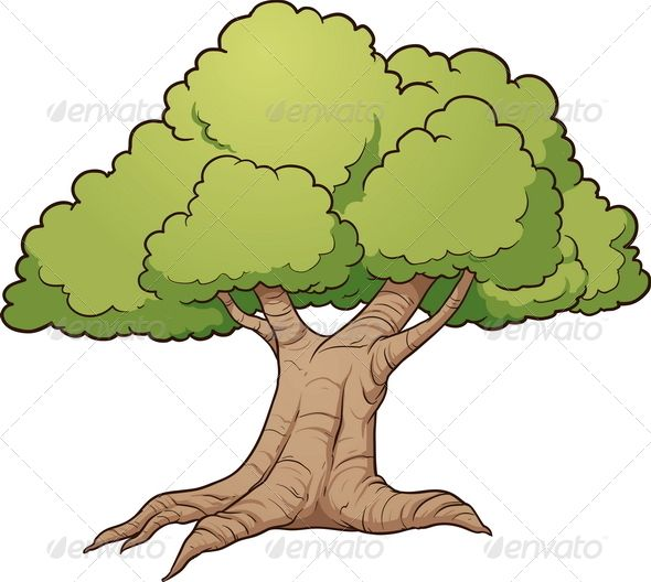 Cartoon Tree Pictures / Blend max 3ds dae fbx obj.