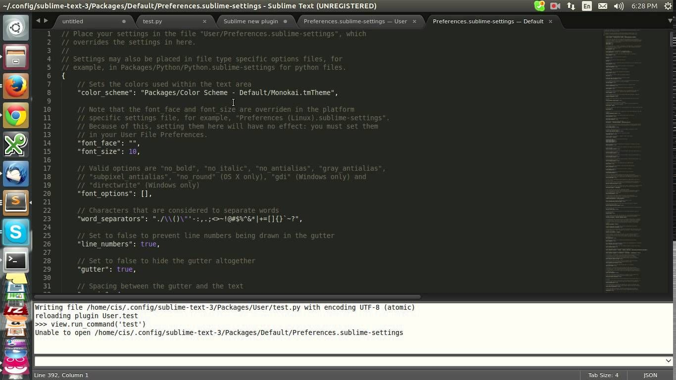 Sublime Text Python
