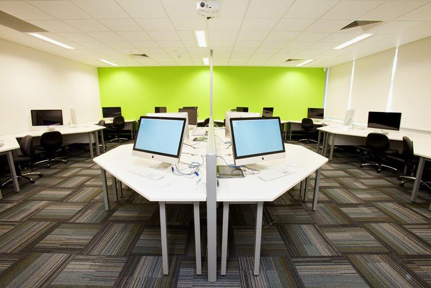 school computer lab design - Google Search | Computer Lab Ideas ...