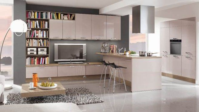 Cuisine  Tous au comptoir ! Kitchens, Salons and Living rooms