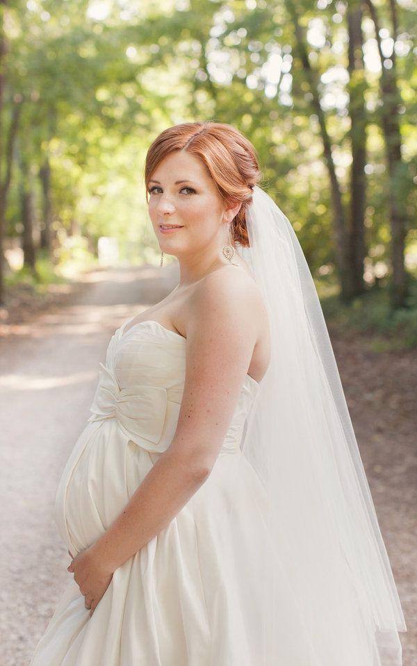 Nashville Wedding By Lovebird Style Pregnant Wedding Dress