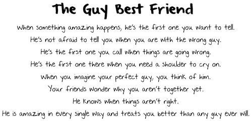 Quotes About Being Best Friends With A Guy: Quotes About Girls And Guys Being Best Friends