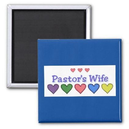 Pastors Wife GH Magnet - Xmas ChristmasEve Christmas Eve ...