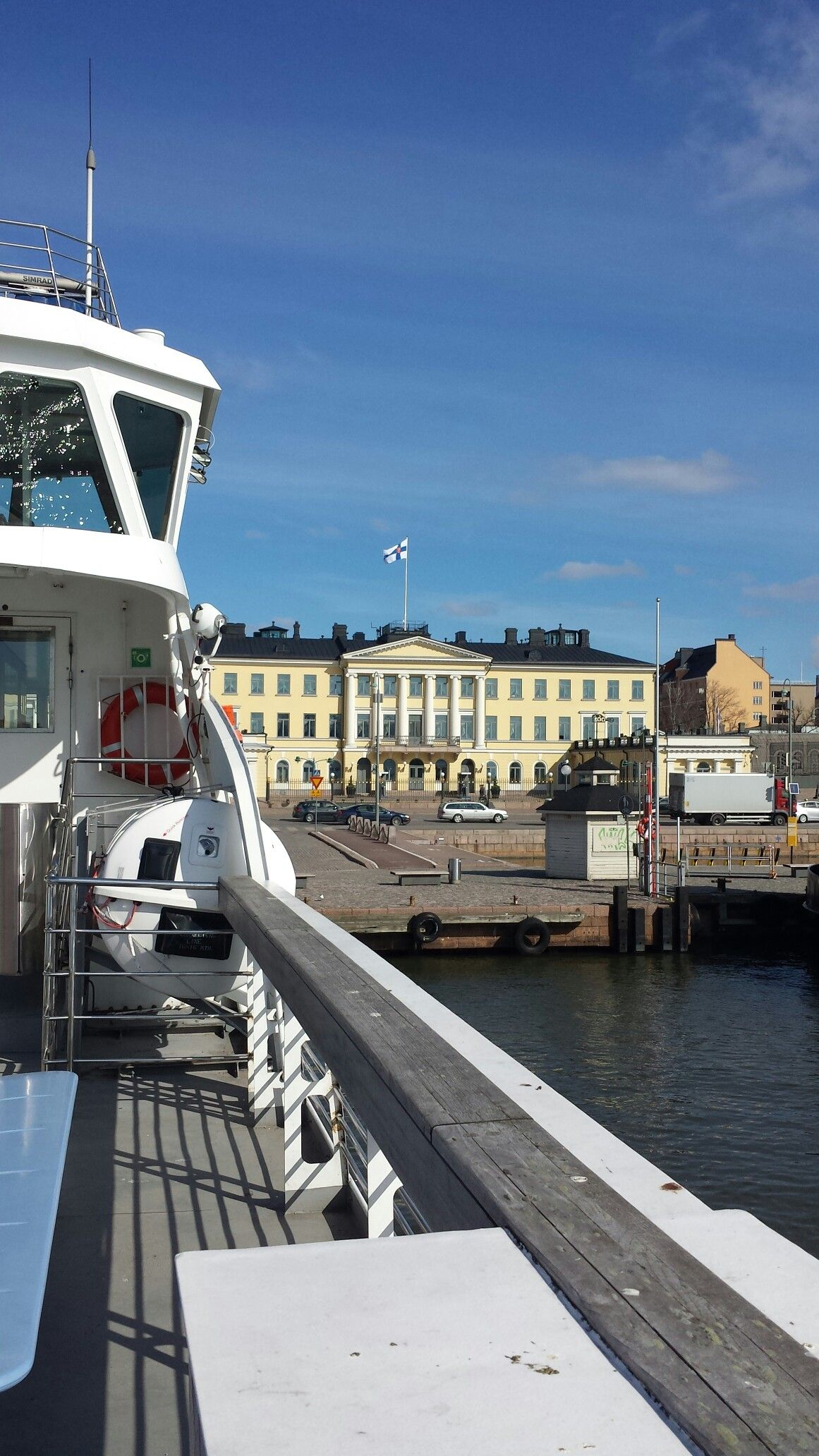 About to depart from Kauppatori to Soumenlinna.
