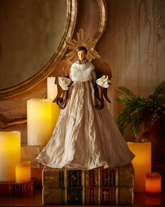 """Traditional 16"""" Angel at Horchow."""
