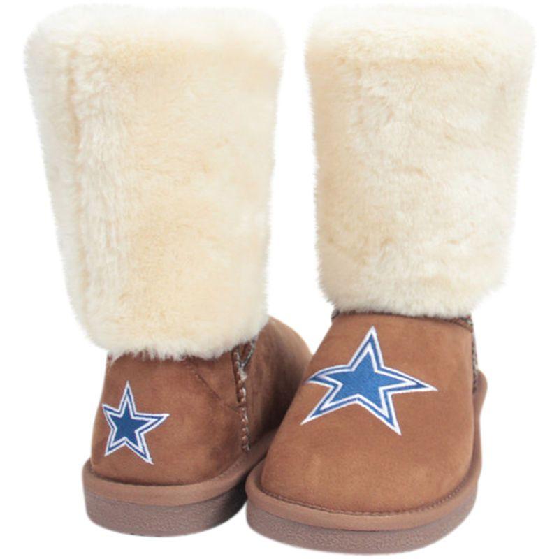 8ddb7925 Dallas Cowboys Cuce Women's Fan Boot - Tan | Products | Dallas ...