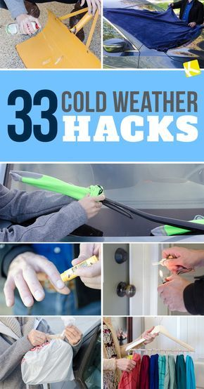 33 Life-Changing Cold Weather Hacks