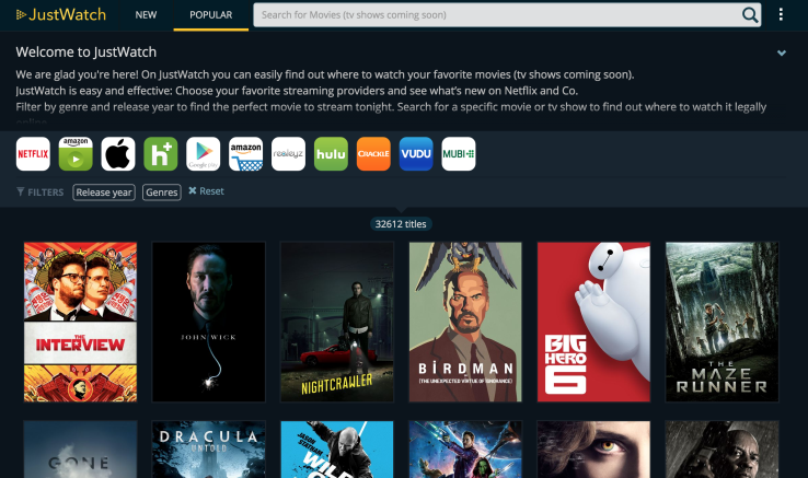 JustWatch Debuts A New Search Engine For Cord Cutters   TechCrunch