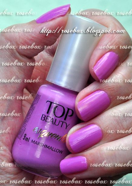 esmalte Top Beauty marshmallow