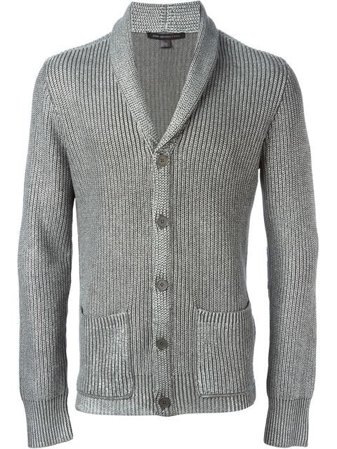 93f0c1cab029 Shop John Varvatos ribbed cardigan in Vitkac from the world s best  independent boutiques at farfetch.com. Over 1000 designers from 300  boutiques in one ...