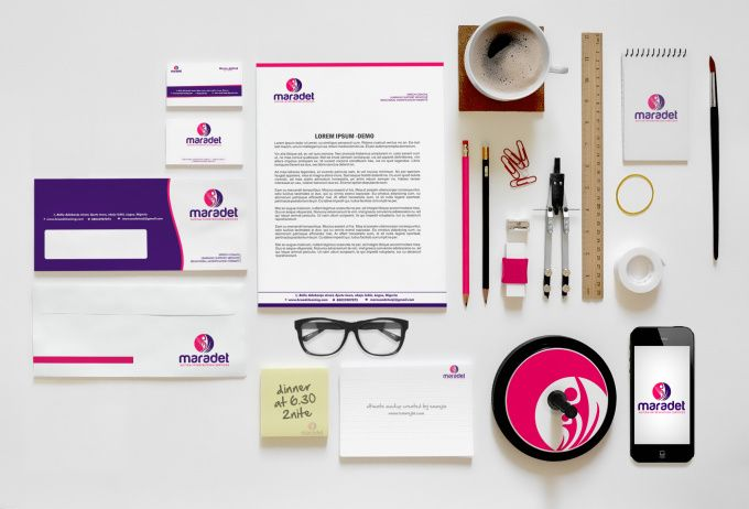 do a great business card and stationery design for your brand by paul_avan