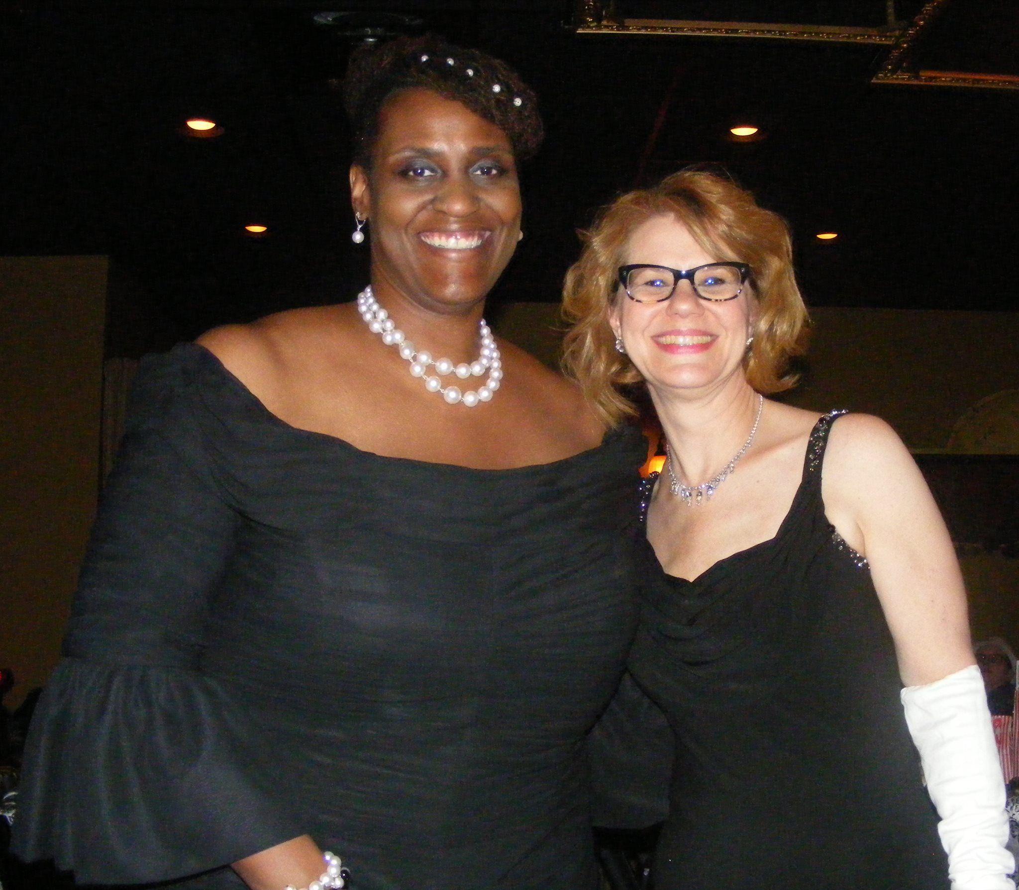 with my wonderful friend Denise