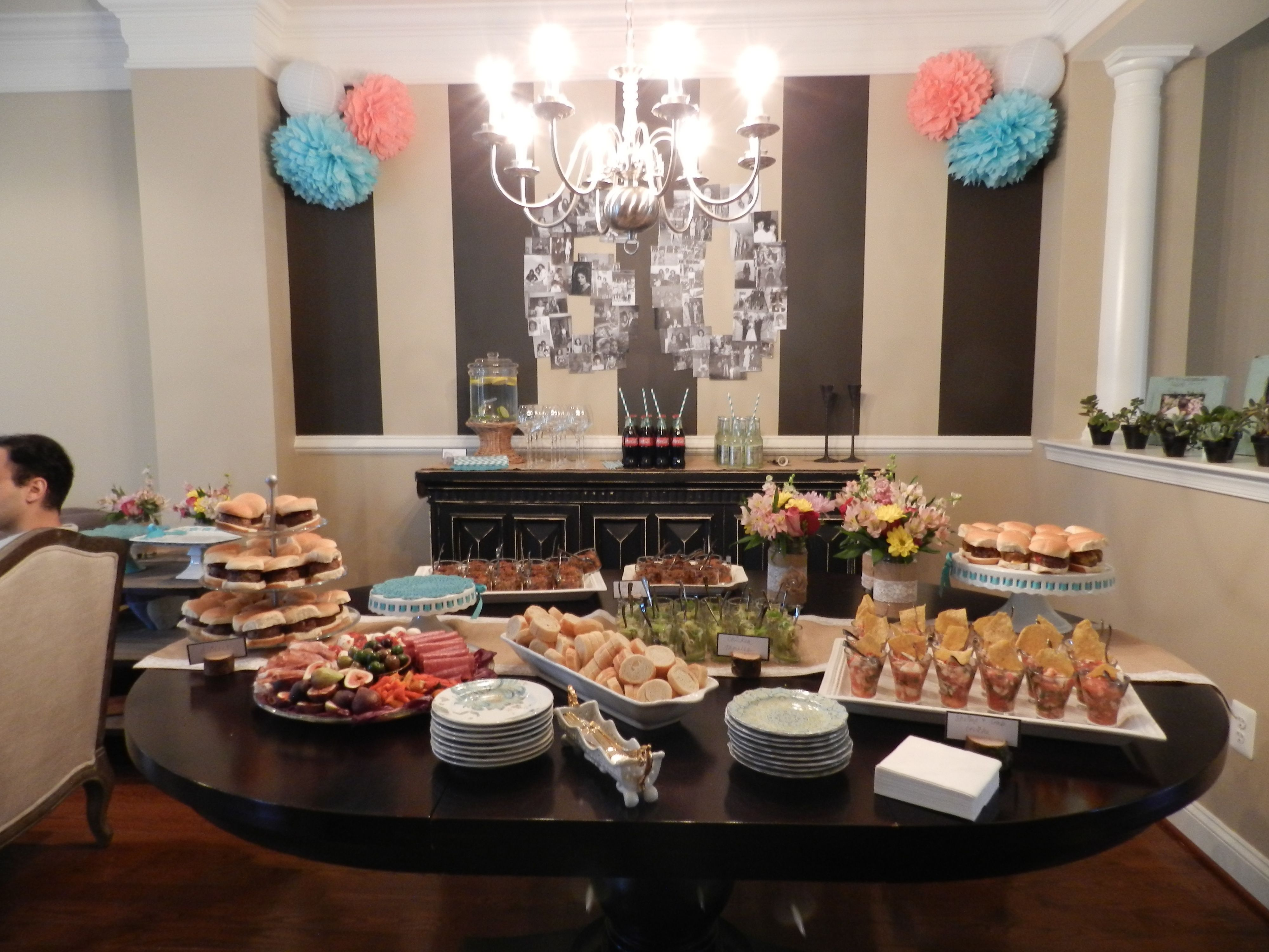 60th birthday party my friend threw for her mother! Look