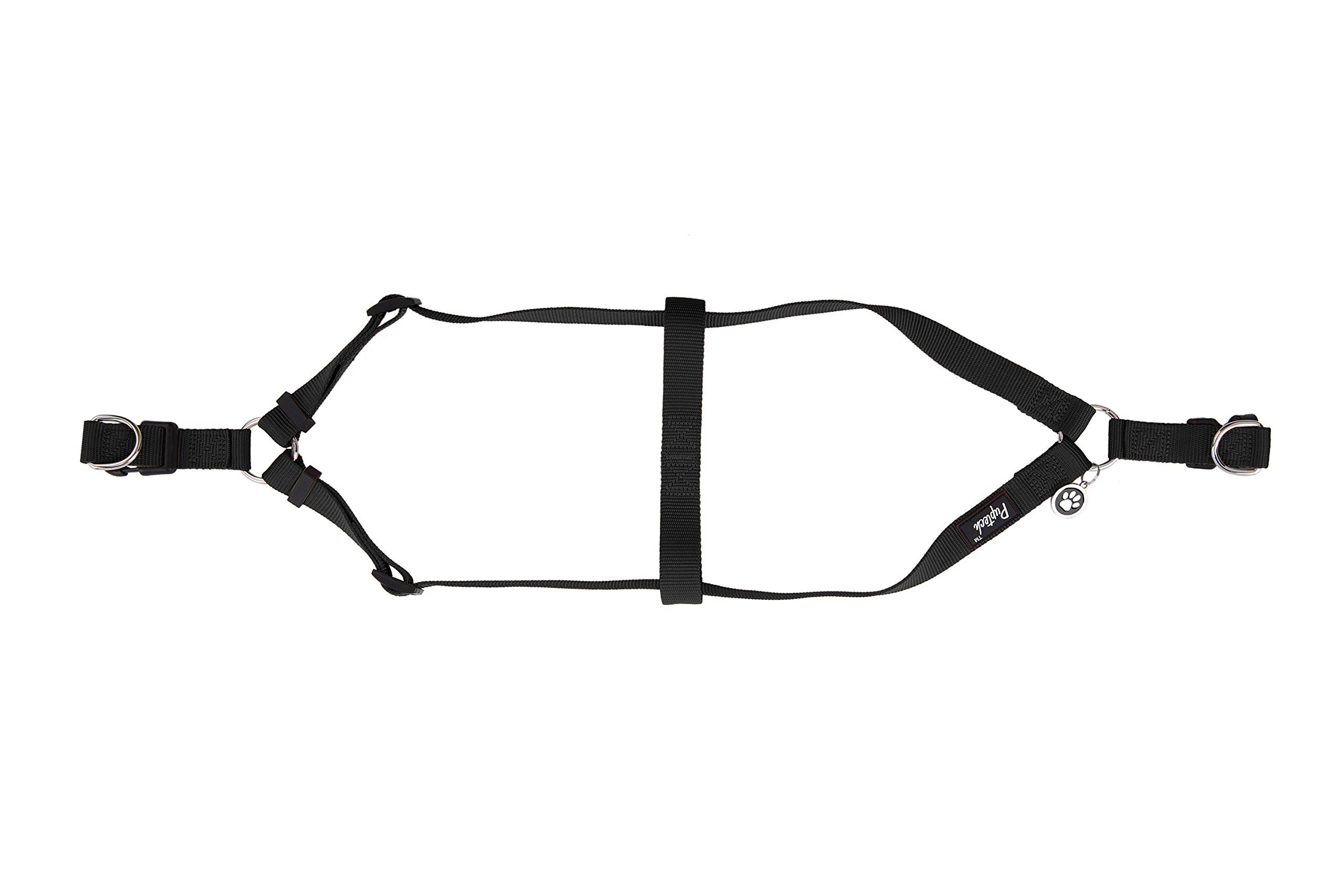 No Pull Dog Harness Adjustable Basic Nylon Step In Puppy