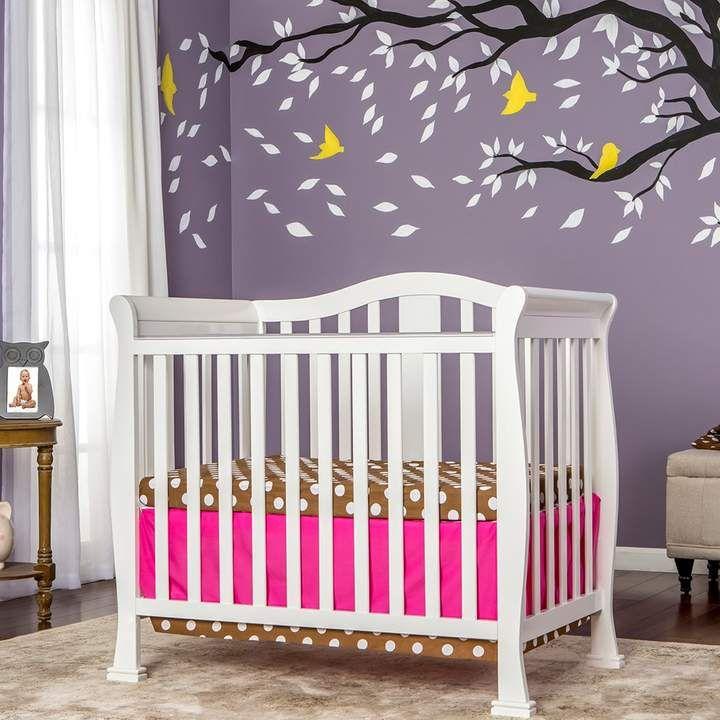 Dream On Me Naples 4 In 1 Convertible Mini Crib Products Cribs Mini Crib Nursery Crib