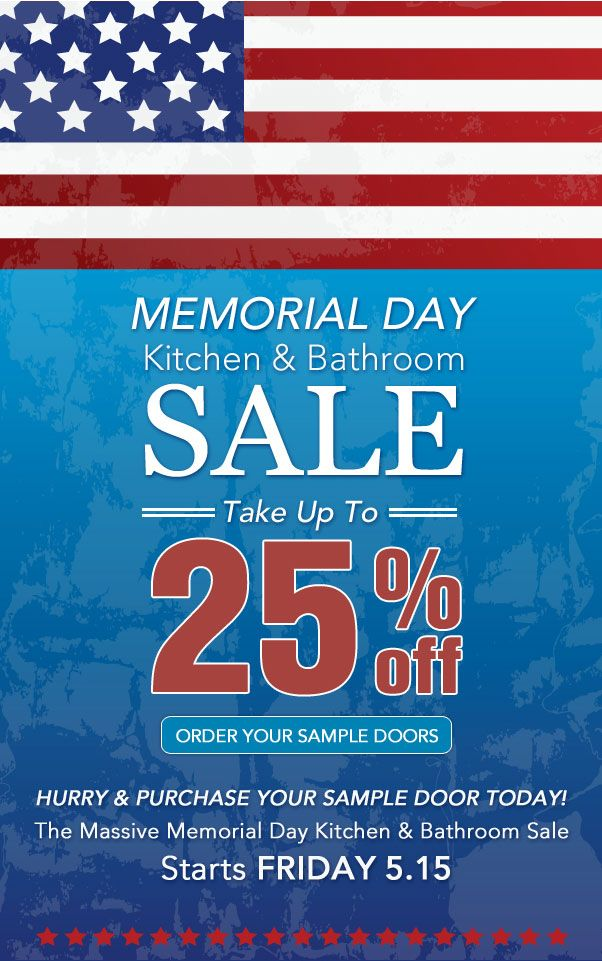 Our Massive Memorial Day Sale Starts on May 15th! Visit us online to find out more.