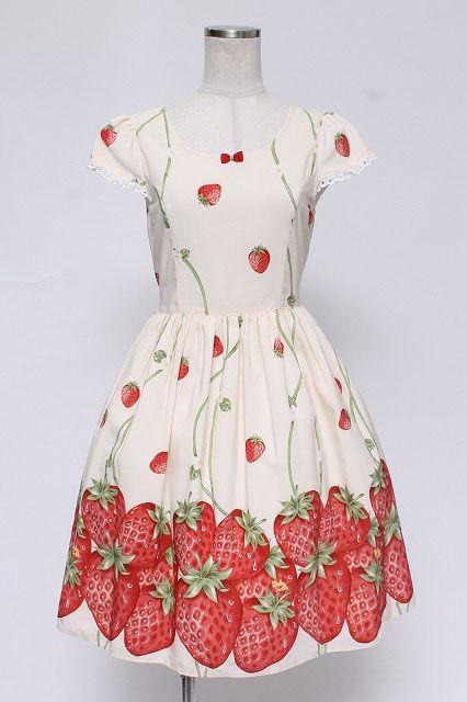 Delightful Shirley Temple / Wild Strawberry One Piece   Closet Child Online Shop