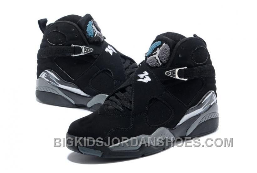 release date: dea90 25245 Nike Air Jordan 8 VIII Homme Noir Blanc