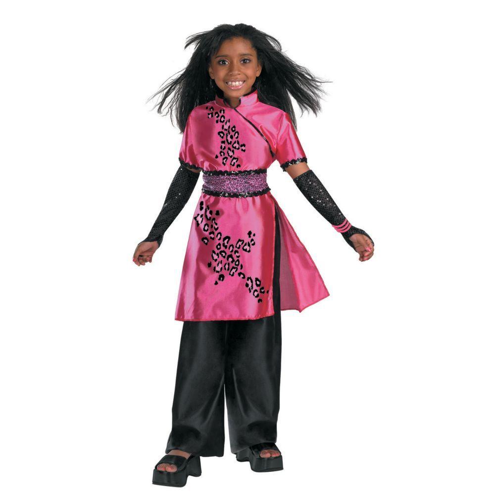Deluxe Cheetah Girls Galleria Girls Halloween Costume - Medium