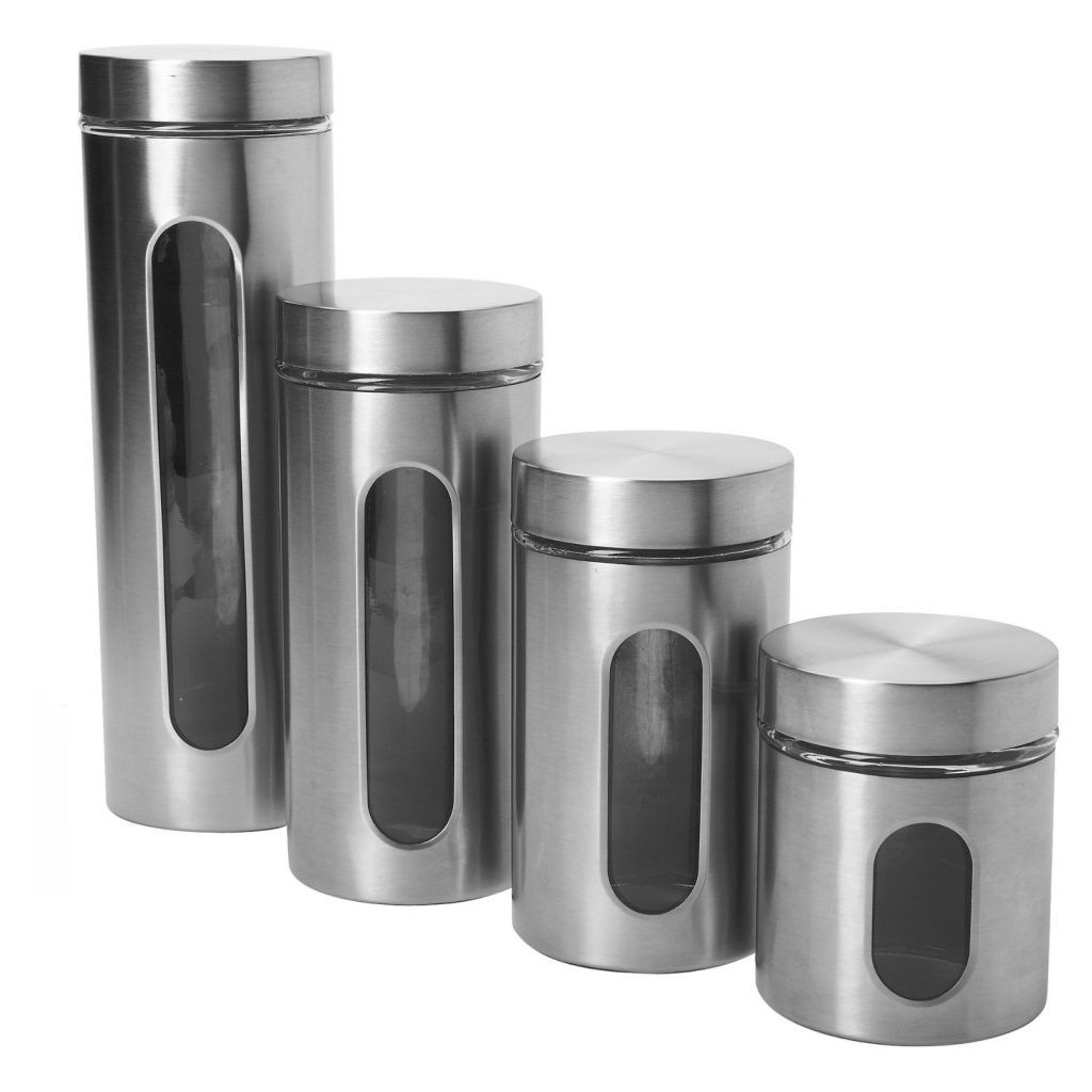 Silver Kitchen Canister Sets