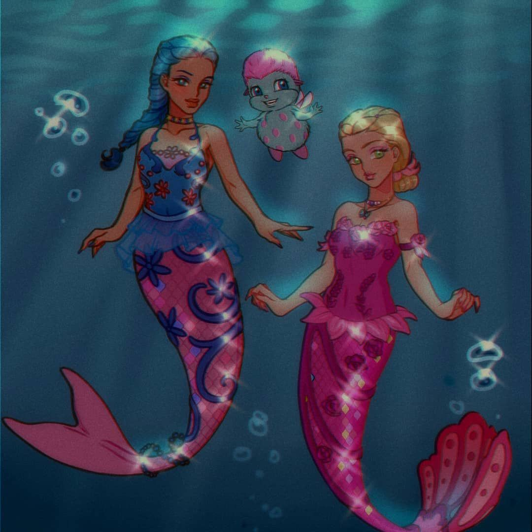 Luverihu On Instagram Remember The Name Of The Mermaid From The Mermaidia Movie Also Which Barbie Movie Nex In 2020 Barbie Movies Barbie Cartoon Profile Pictures