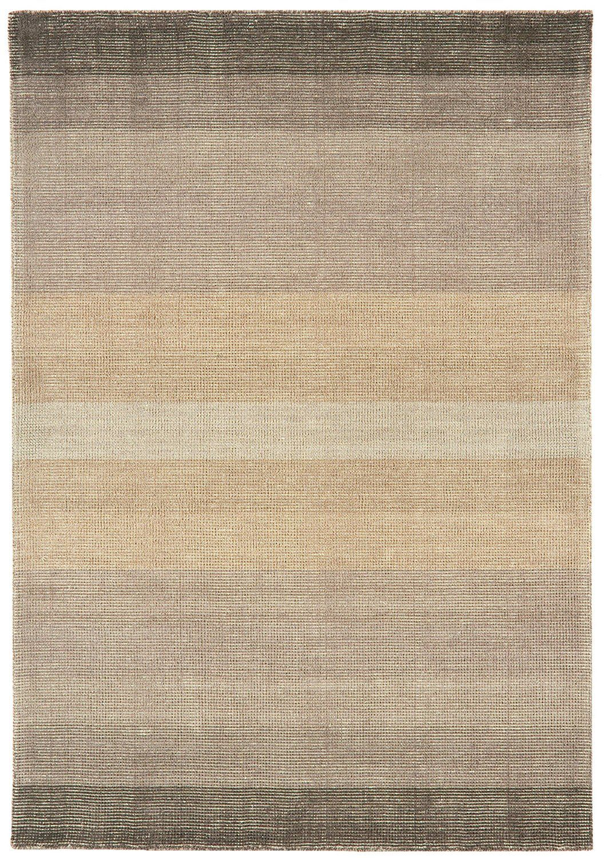 Teppich Wohnzimmer Carpet Flachgewebt Kurzflor Design HAYS STREIFEN RUG 60%  Wolle 40% Baumwolle 160x230