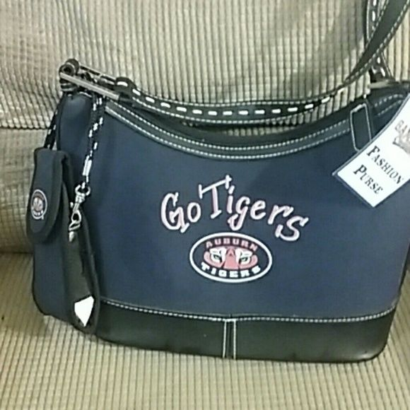 Auburn tiger fans!!!! Super cute fan purse with phone Holder Bags
