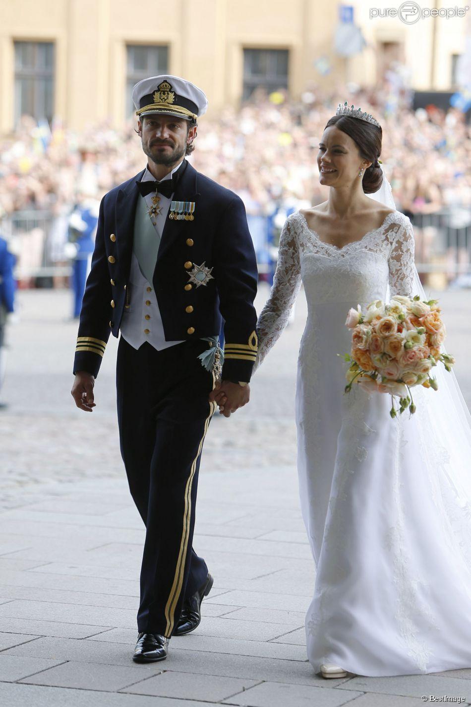 mariage du prince Carl Philip de Suède et de Sofia ...