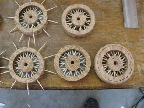 Toy Construction #53: Making a spoked wheel | Wooden toy ...