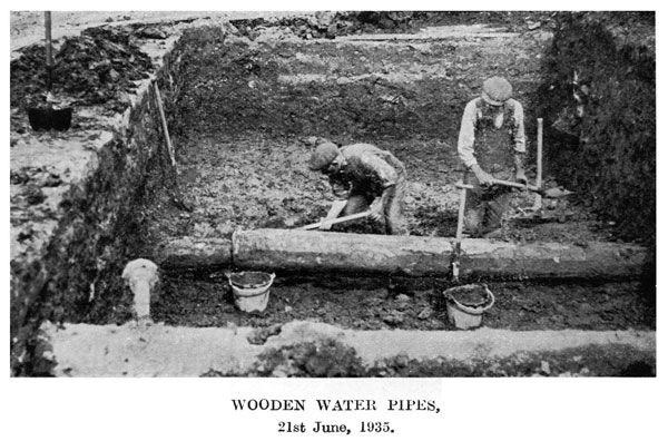 how to change main water pipe
