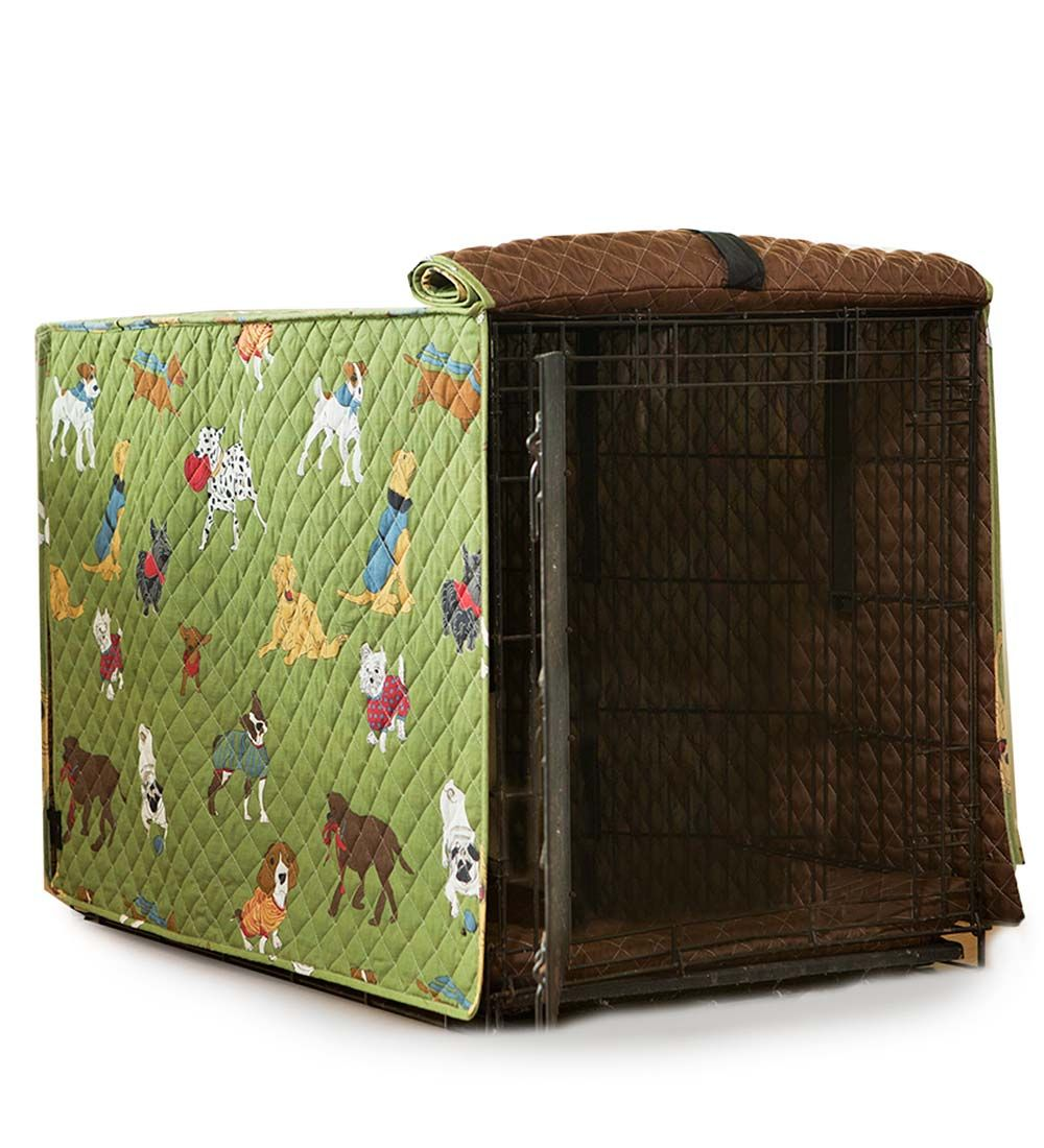 Extra Large Doggone Good Time Dog Crate Cover