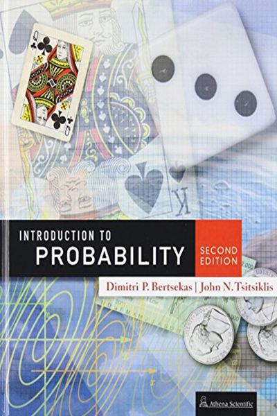 Introduction To Probability 2nd Edition By Dimitri P Bertsekas Athena Scientific Probability Discount Textbooks Books