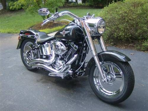2005 Harley Davidson Fat Boy 15th Anniversary Edition 2000 Miles