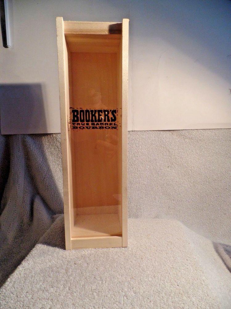 Bookers highest grade true barrel bourbon box man cave