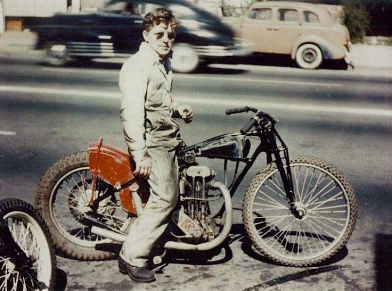 Old School Biker
