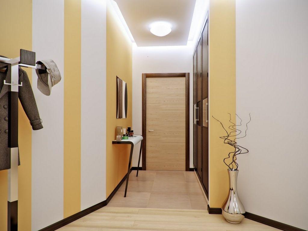 Обои в коридор, виды и характеристики - фото примеров ...