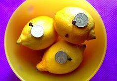 Amuleto con Limones para atraer dinero y mejorar la economía.   Mhoni Vidente