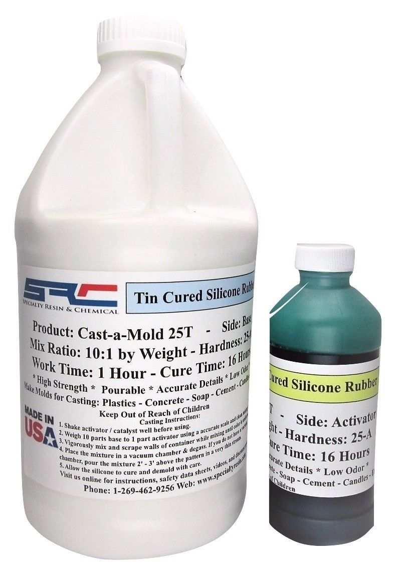 76 50 | High Strength RTV Silicone Rubber for Mold Making 1