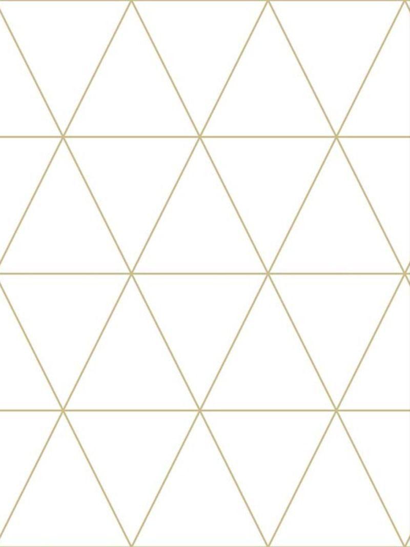 triangle graphique blanc 347682