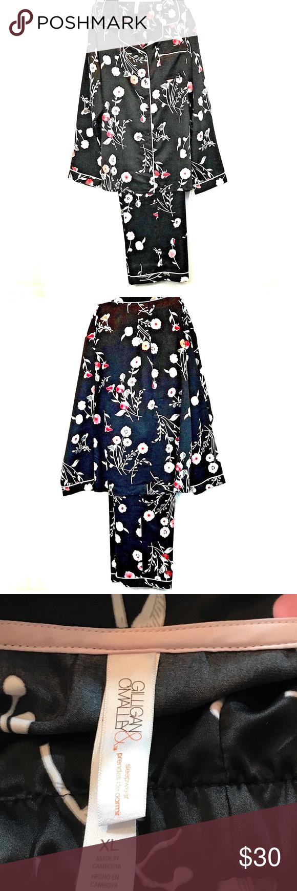 Gilligan O Malley Sleepwear : gilligan, malley, sleepwear, Gilligan, O'Malley, Intimates, Sleepwear, Pajamas, Womens, Pajama, Black, Sleepwear,, Pyjama, Sets,