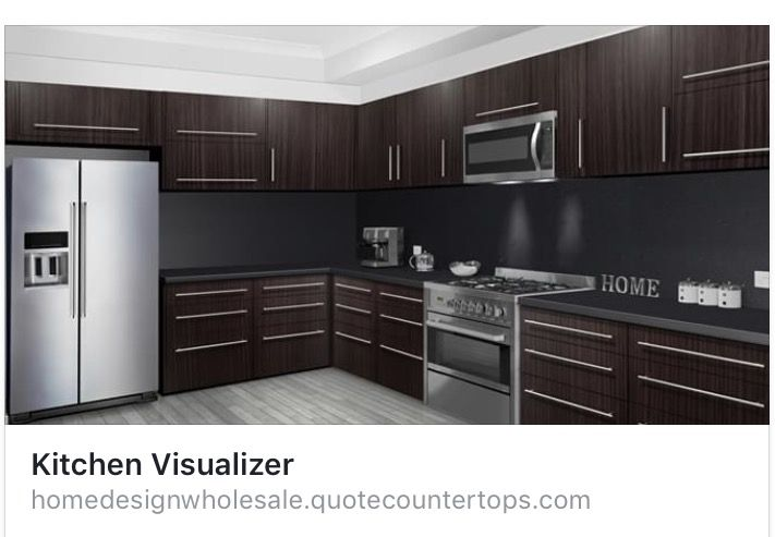 design your kitchen at http homedesignwholesale quotecountertops com kitchenvisualizer on t kitchen layout id=30706
