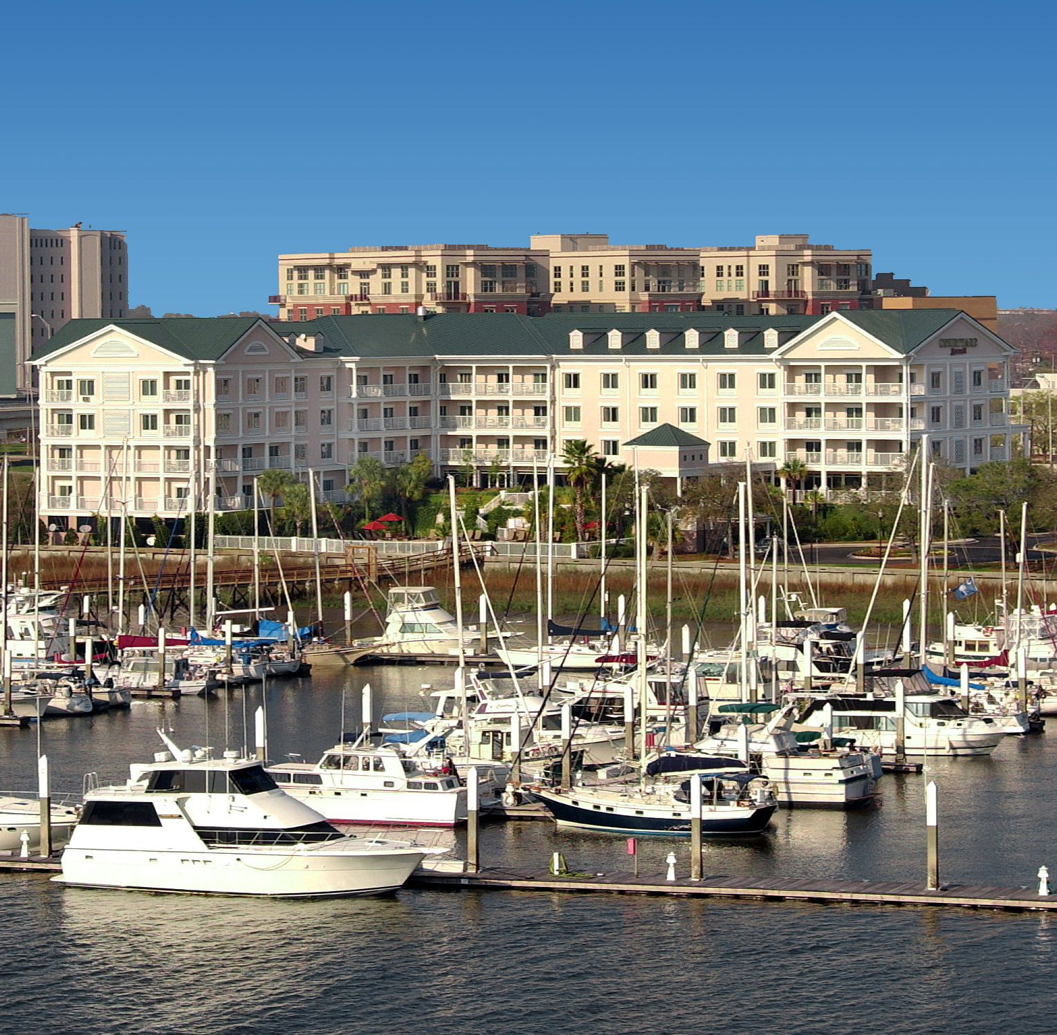 Experience Luxury And Southern Hospitality At Courtyard Charleston Waterfront Hotel Located Minutes From The Heart