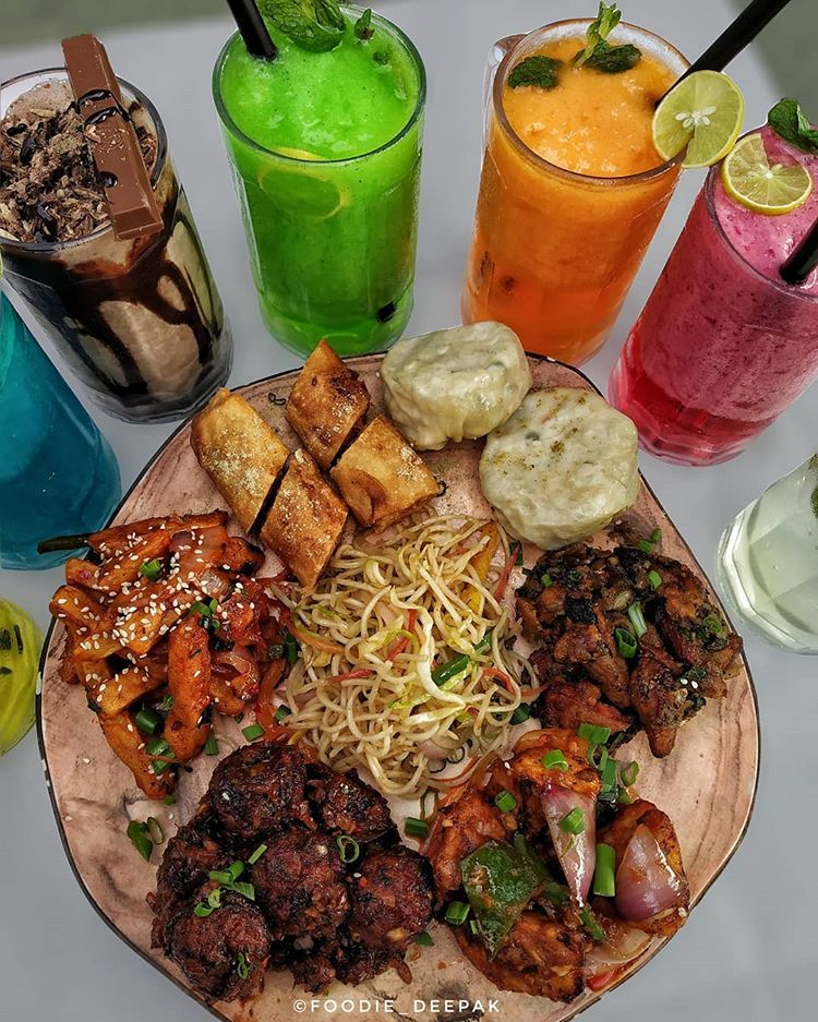 Chinese Platter Tag Your Gang And Make Them Choose Wha Food Snapchat Food Platters Breakfast Recipes Indian