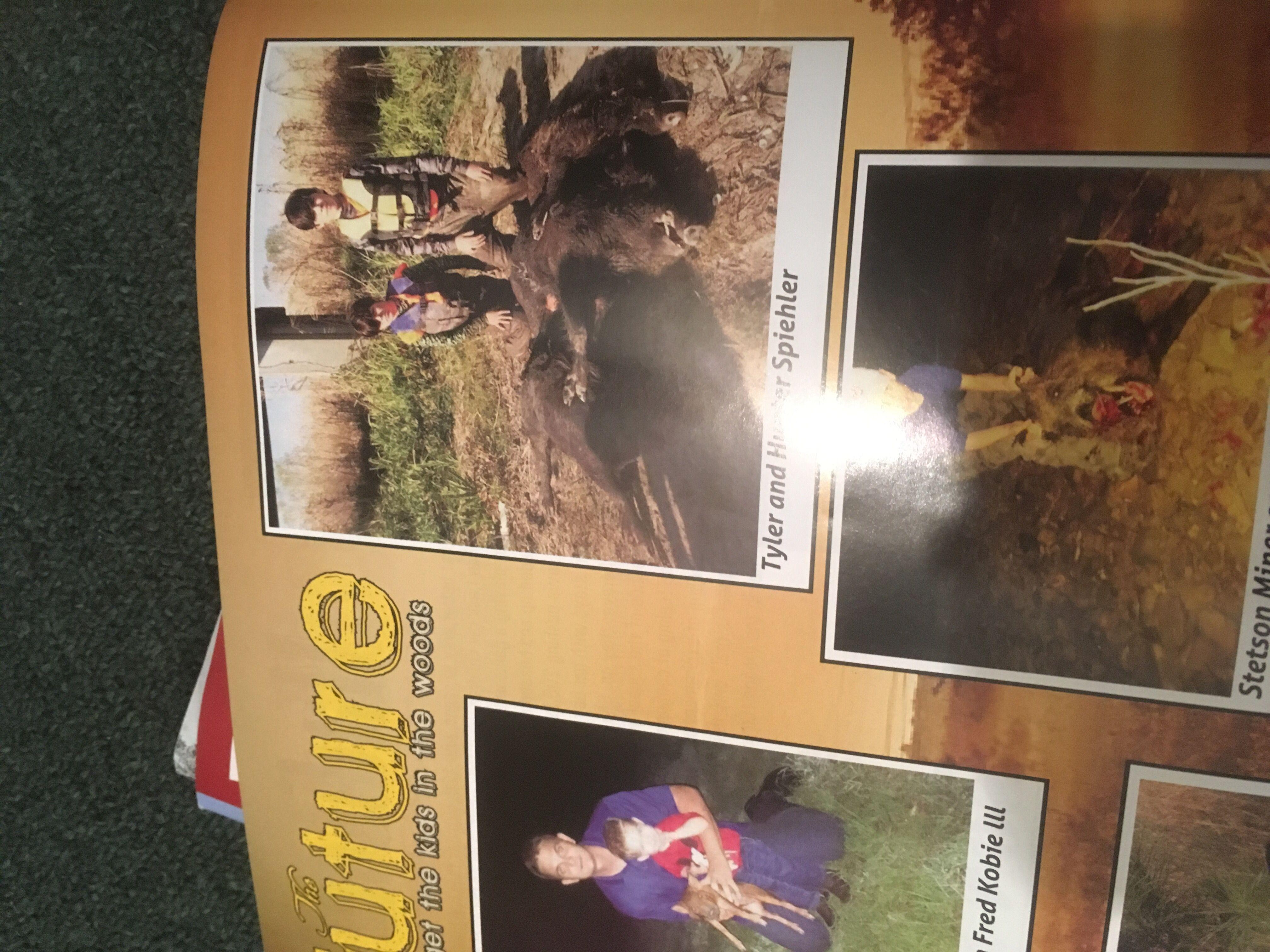 Hard Core Hog Dogs.com Hunter & Tyler in Tusker magazine!!!
