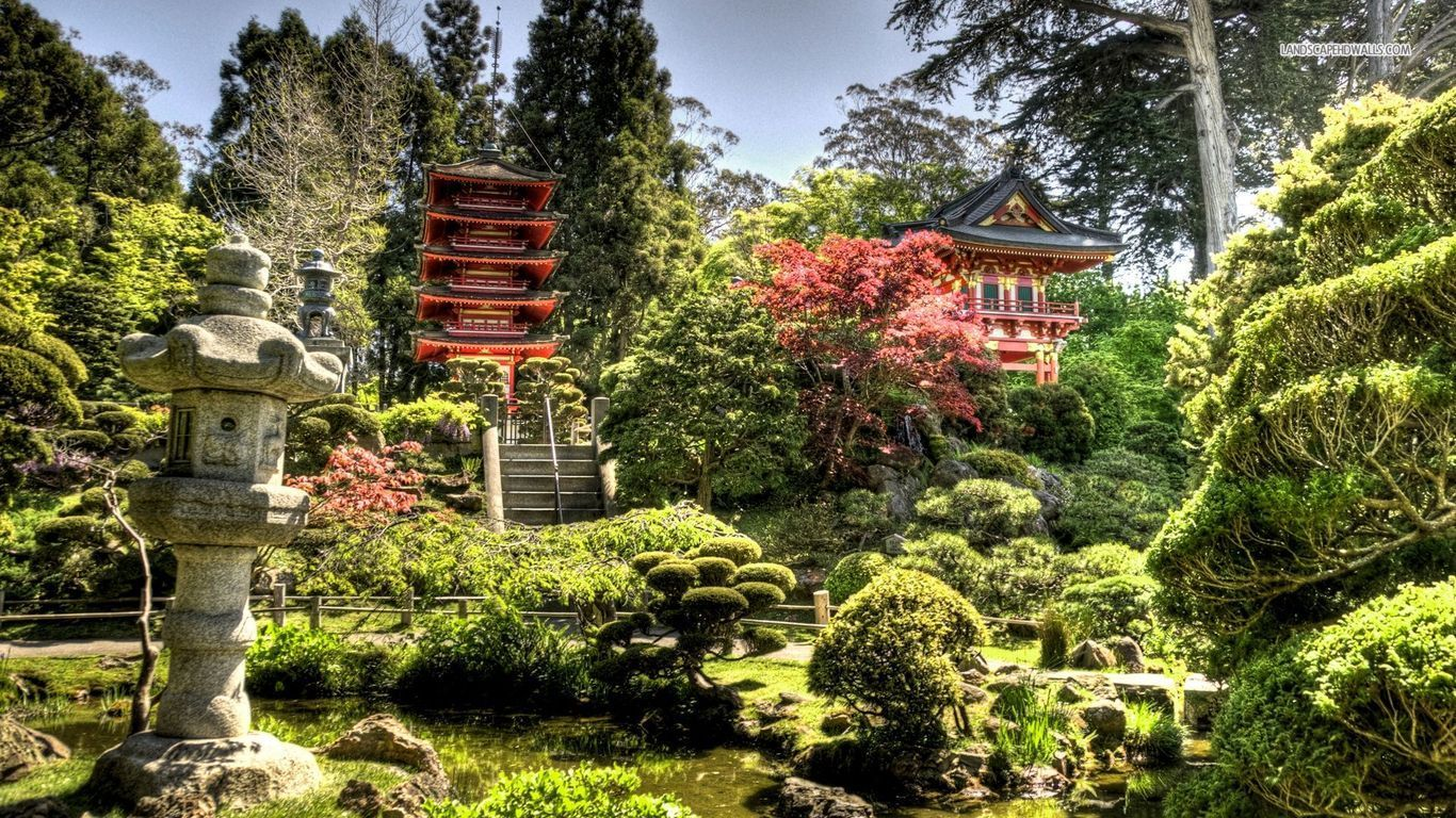 Splendid Japanese Garden Wallpaper #5954