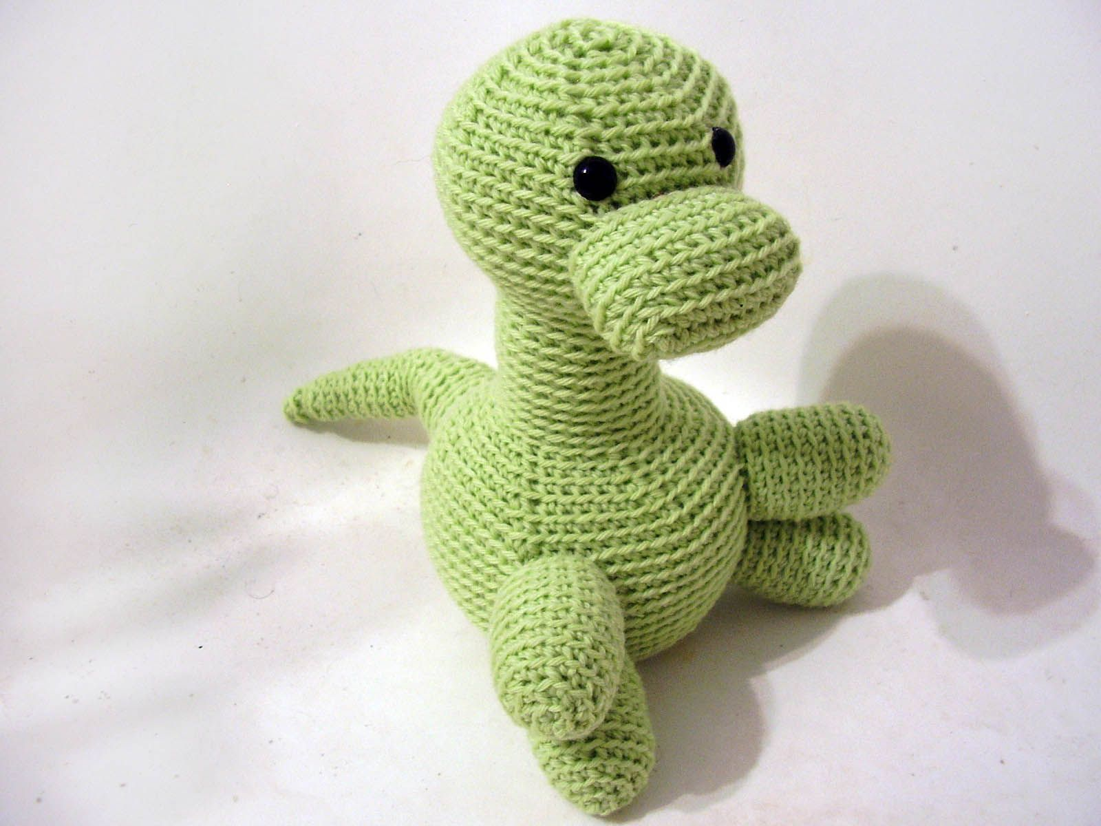 Dinosaur Crochet Pattern | Crochet | Pinterest